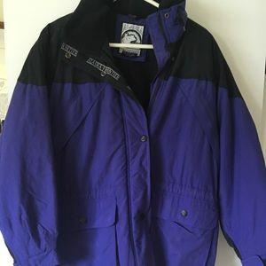 Ski jacket medium purple/black